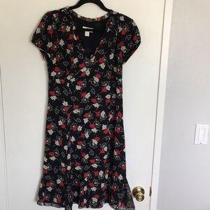 Loft | Floral dress